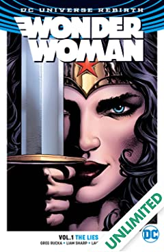 Wonder Woman (2016-) Vol. 1: The Lies