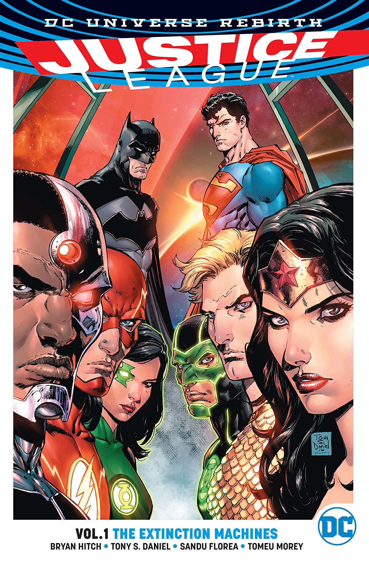 Justice League (2016-) Tome 1: The Extinction Machines