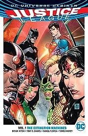 Justice League (2016-2018) Tome 1: The Extinction Machines
