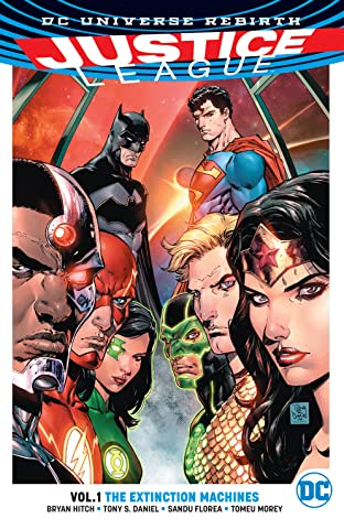Justice League (2016-) Vol. 1: The Extinction Machines