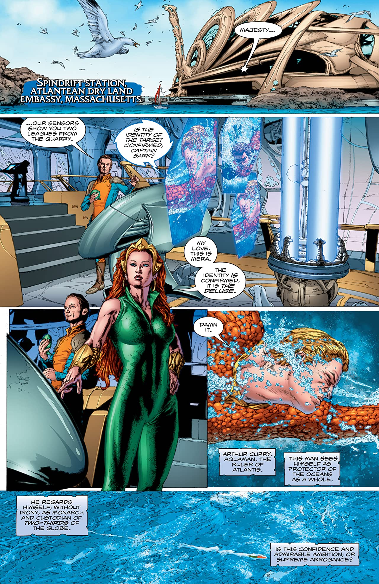 Aquaman (2016-) Tome 1: The Drowning