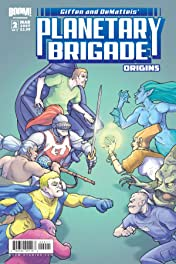 Planetary Brigade Origins #2 (of 3)