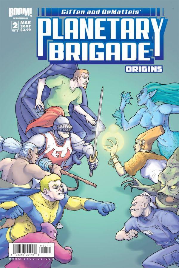 Planetary Brigade Origins #2 (of 3)