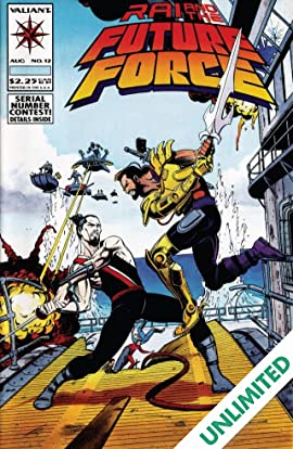 Rai and the Future Force (1992-1995) #12