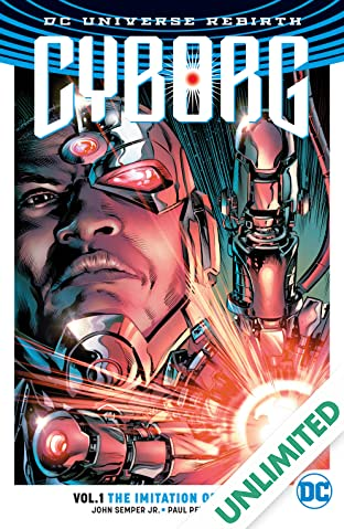 Cyborg (2016-2018) Vol. 1: Imitation of Life
