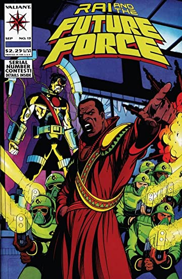 Rai and the Future Force (1992-1995) #13