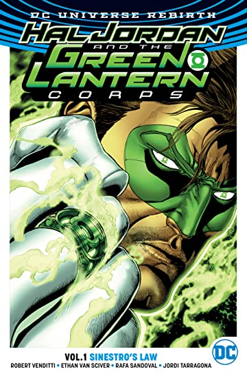 Hal Jordan and the Green Lantern Corps (2016-2018) Tome 1: Sinestro's Law