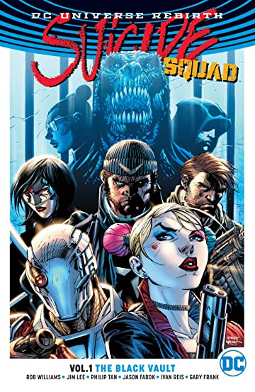 Suicide Squad (2016-2019) Vol. 1: The Black Vault