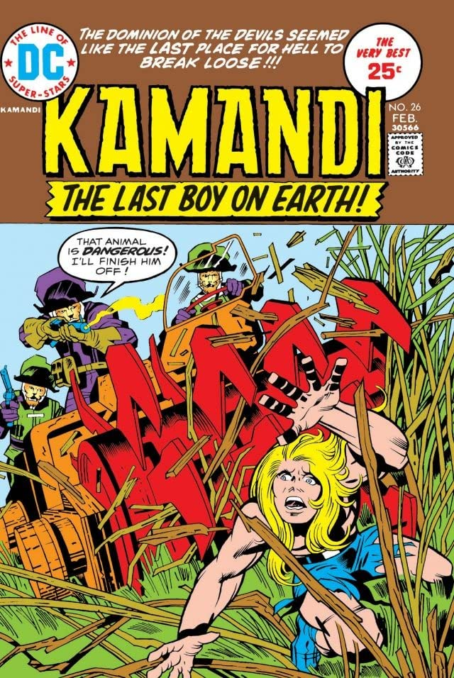 Kamandi: The Last Boy on Earth (1971-1978) #26