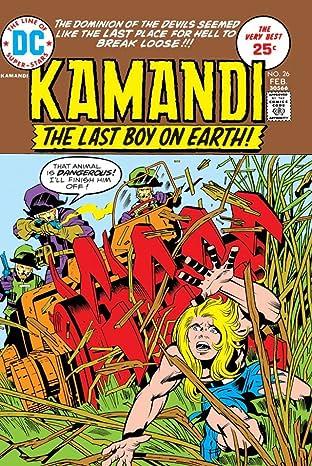 Kamandi: The Last Boy on Earth (1971-1978) #26