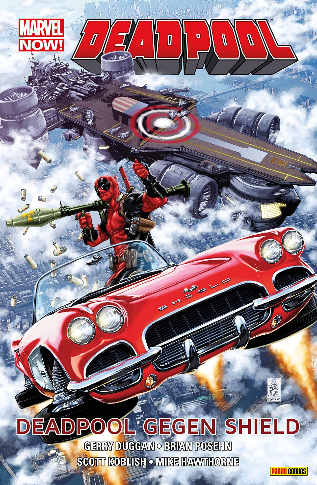 Marvel Now! PB Deadpool Vol. 4: Deadpool gegen Shield