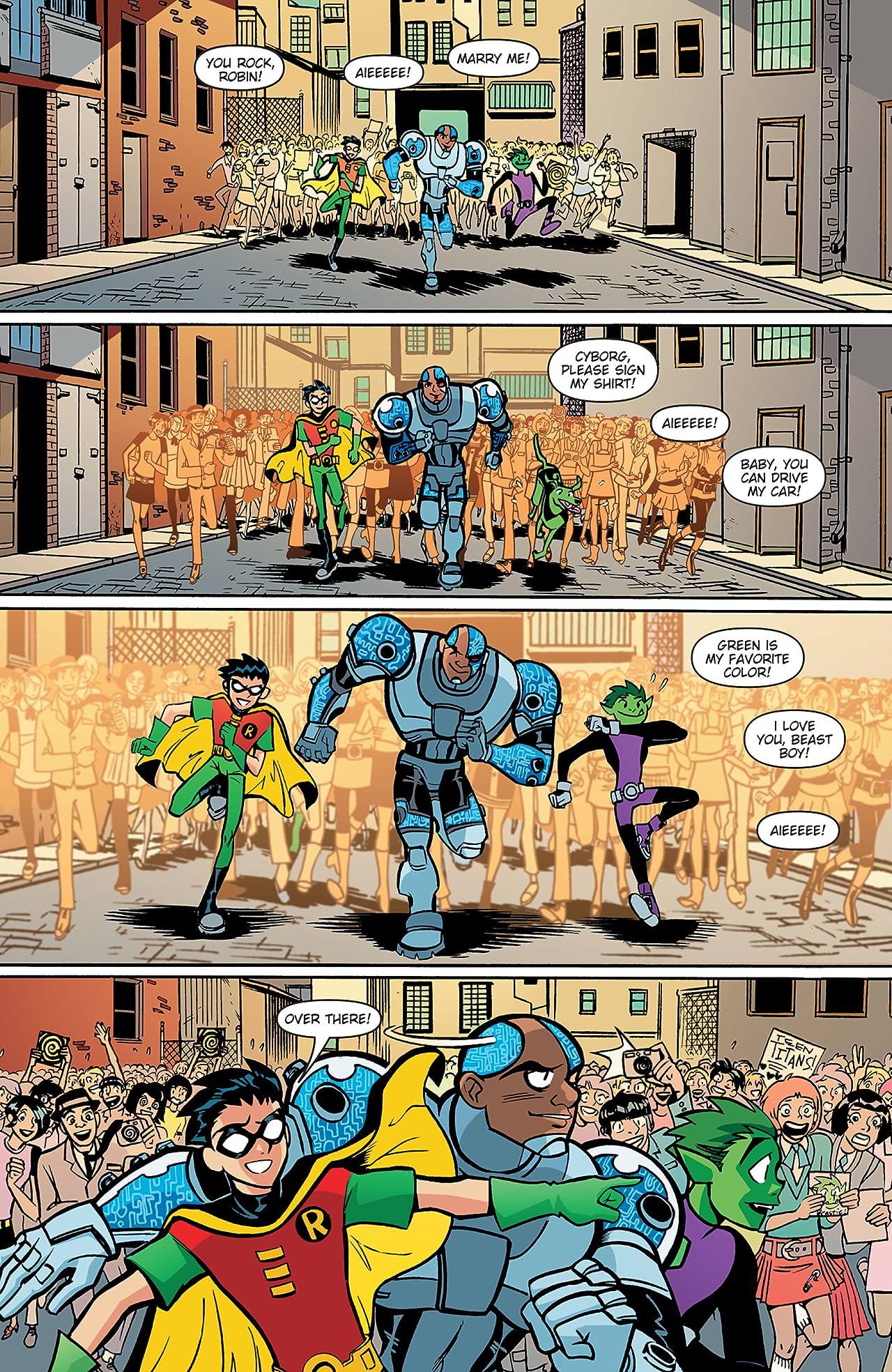 Teen Titans Go! (2004-2008) #38