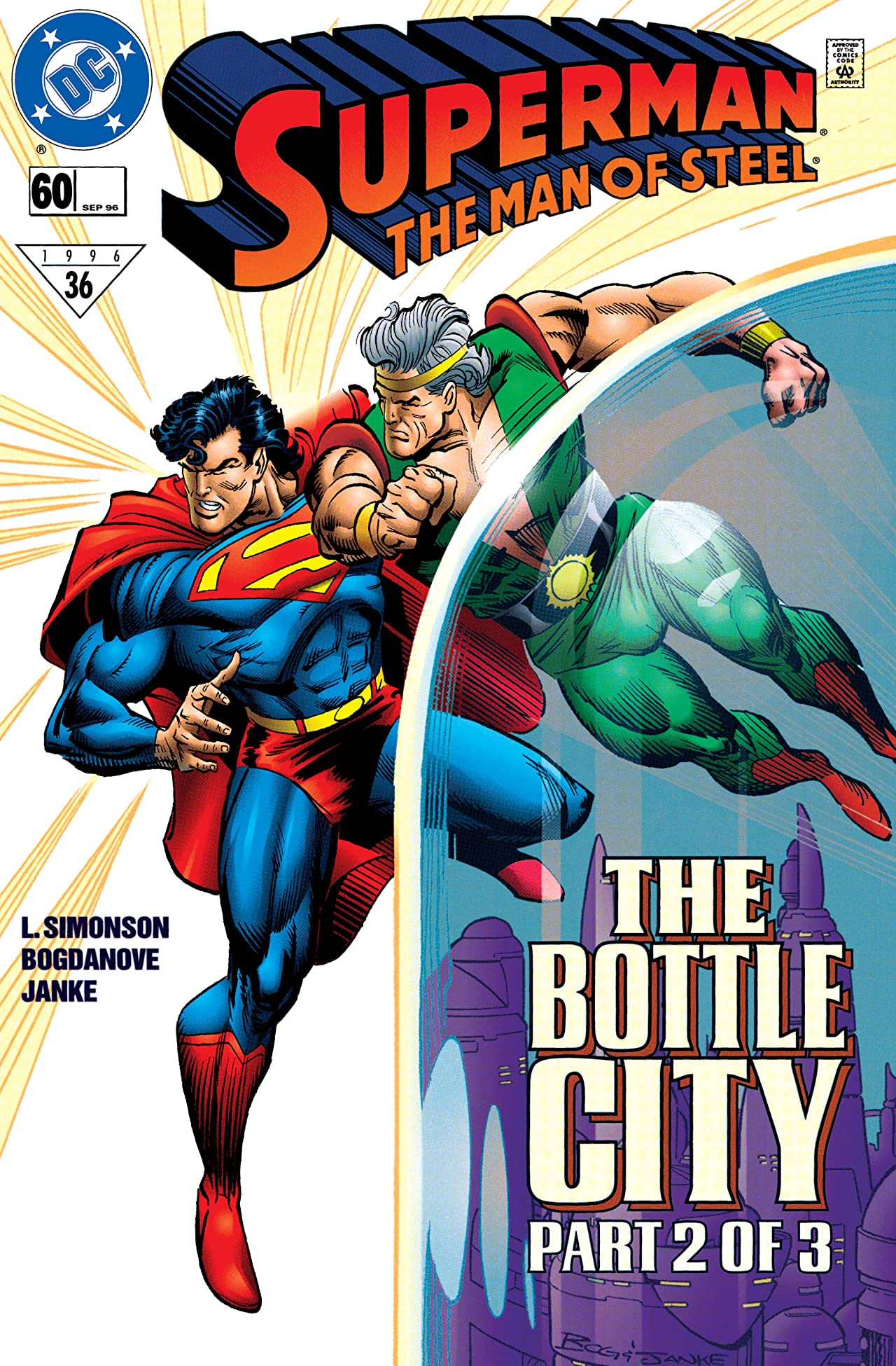 Superman: The Man of Steel (1991-2003) #60