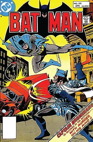 Batman (1940-2011) #322