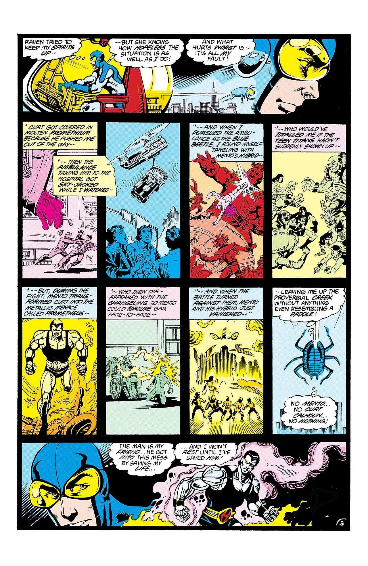 Blue Beetle (1986-1988) #14