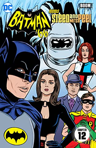 Batman '66 Meets Steed and Mrs Peel (2016) #12
