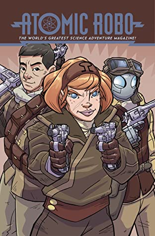 Atomic Robo and the Temple of Od No.3