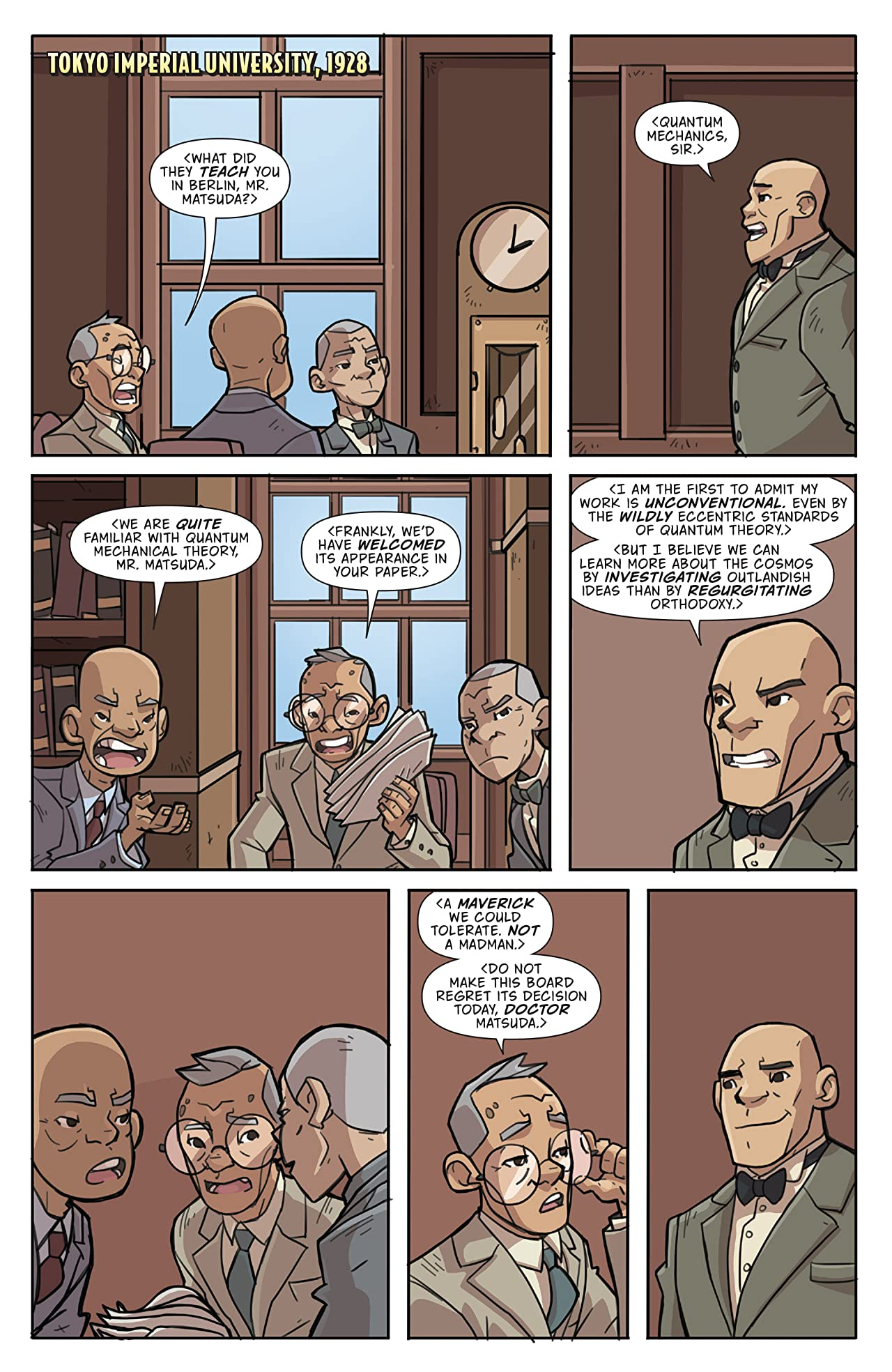 Atomic Robo and the Temple of Od #4