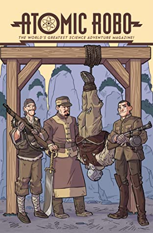 Atomic Robo and the Temple of Od No.4