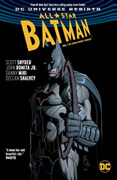 All-Star Batman (2016-2017) Tome 1: My Own Worst Enemy