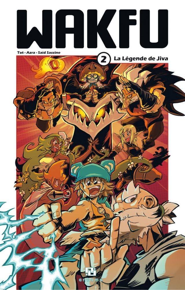 WAKFU Manga Vol. 2: La Légende de Jiva