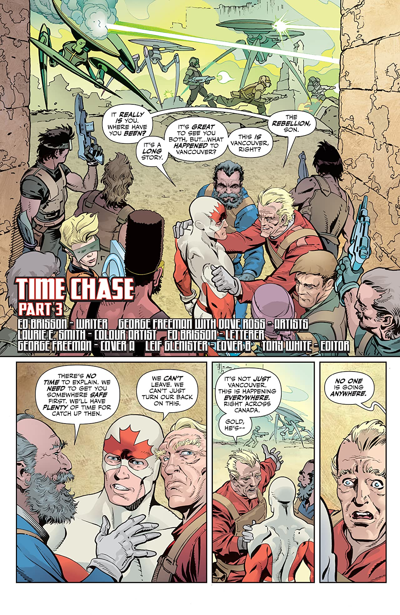 All New Classic Captain Canuck #3