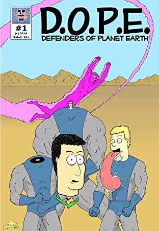 D.O.P.E. Defenders of Planet Earth #1