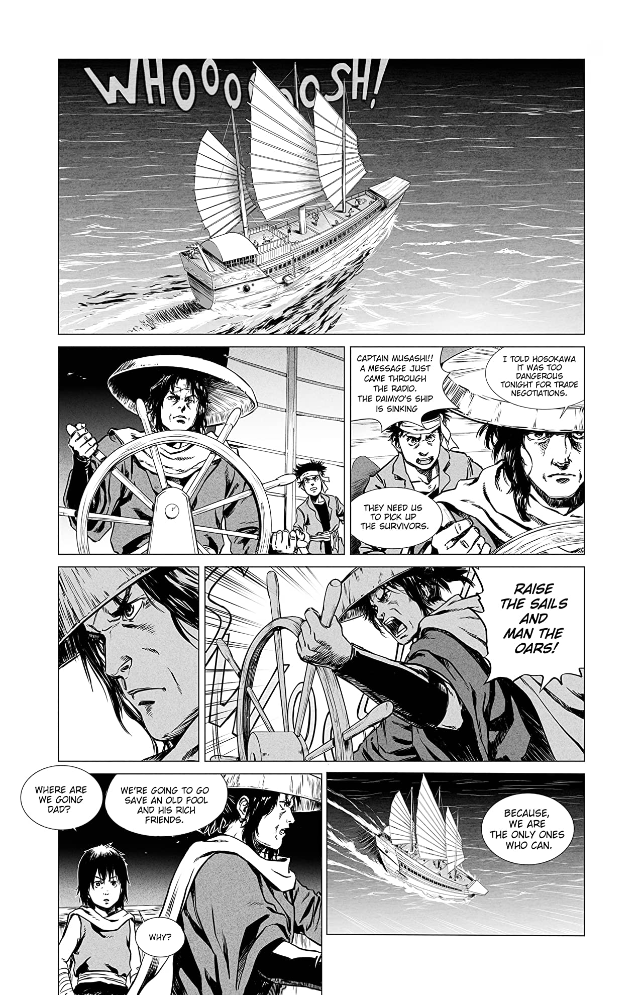 Flowing Blade Bushido #1