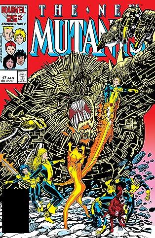 New Mutants (1983-1991) #47