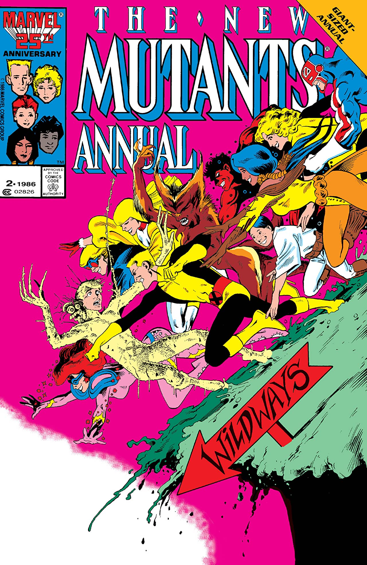 New Mutants (1983-1991) Annual #2