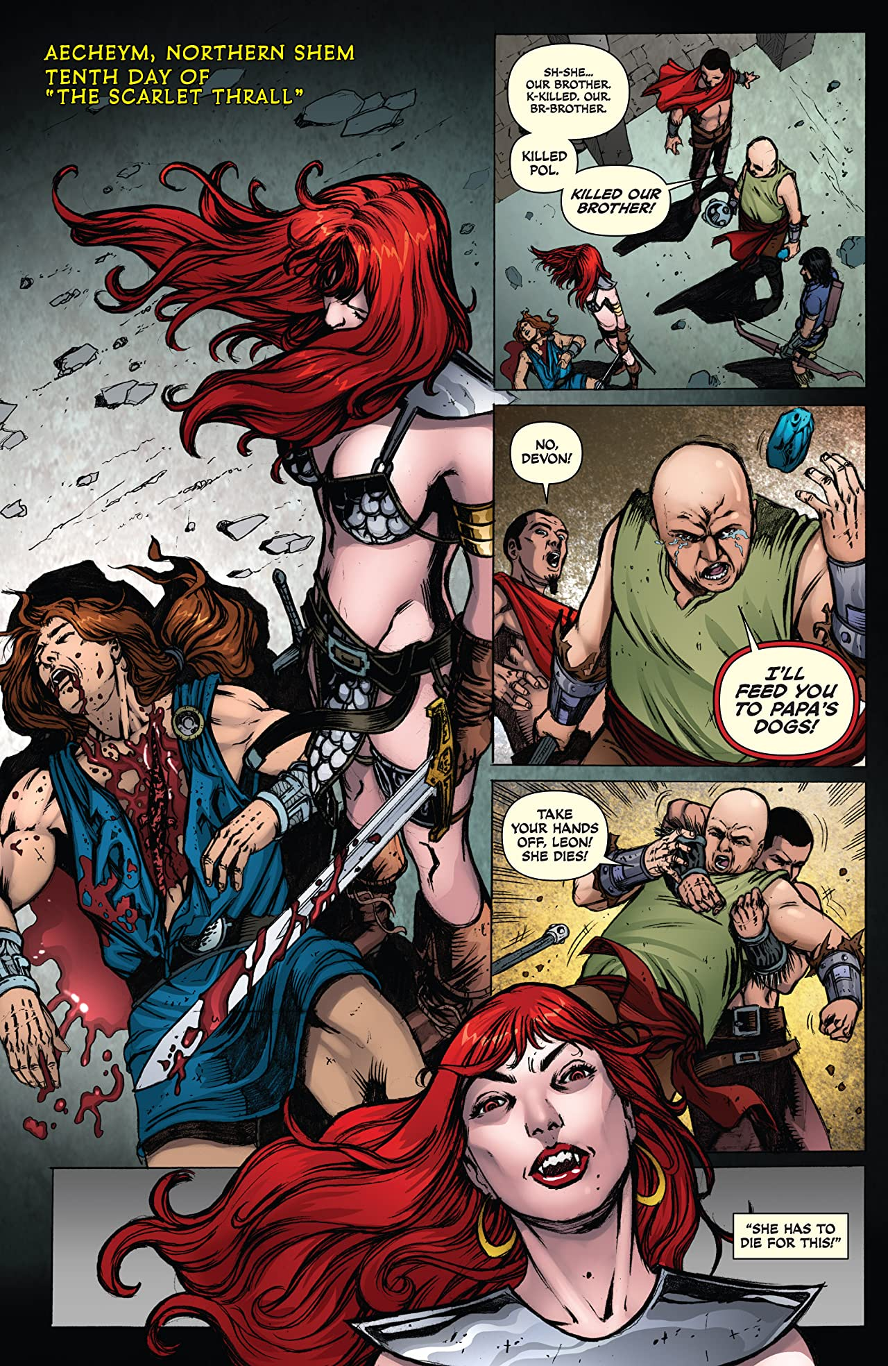 Red Sonja: She-Devil With A Sword #79