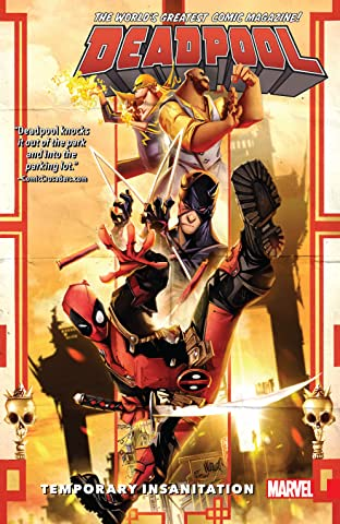 Deadpool: World's Greatest Tome 4: Temporary Insanitation