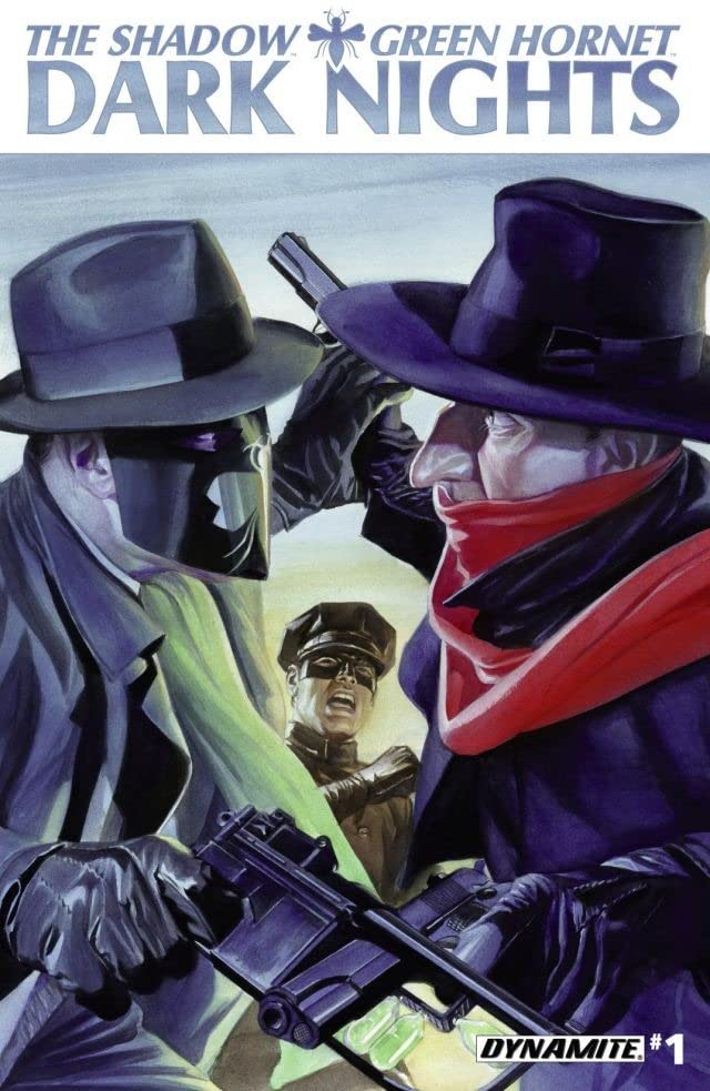 The Shadow/Green Hornet: Dark Nights #1: Digital Exclusive Edition