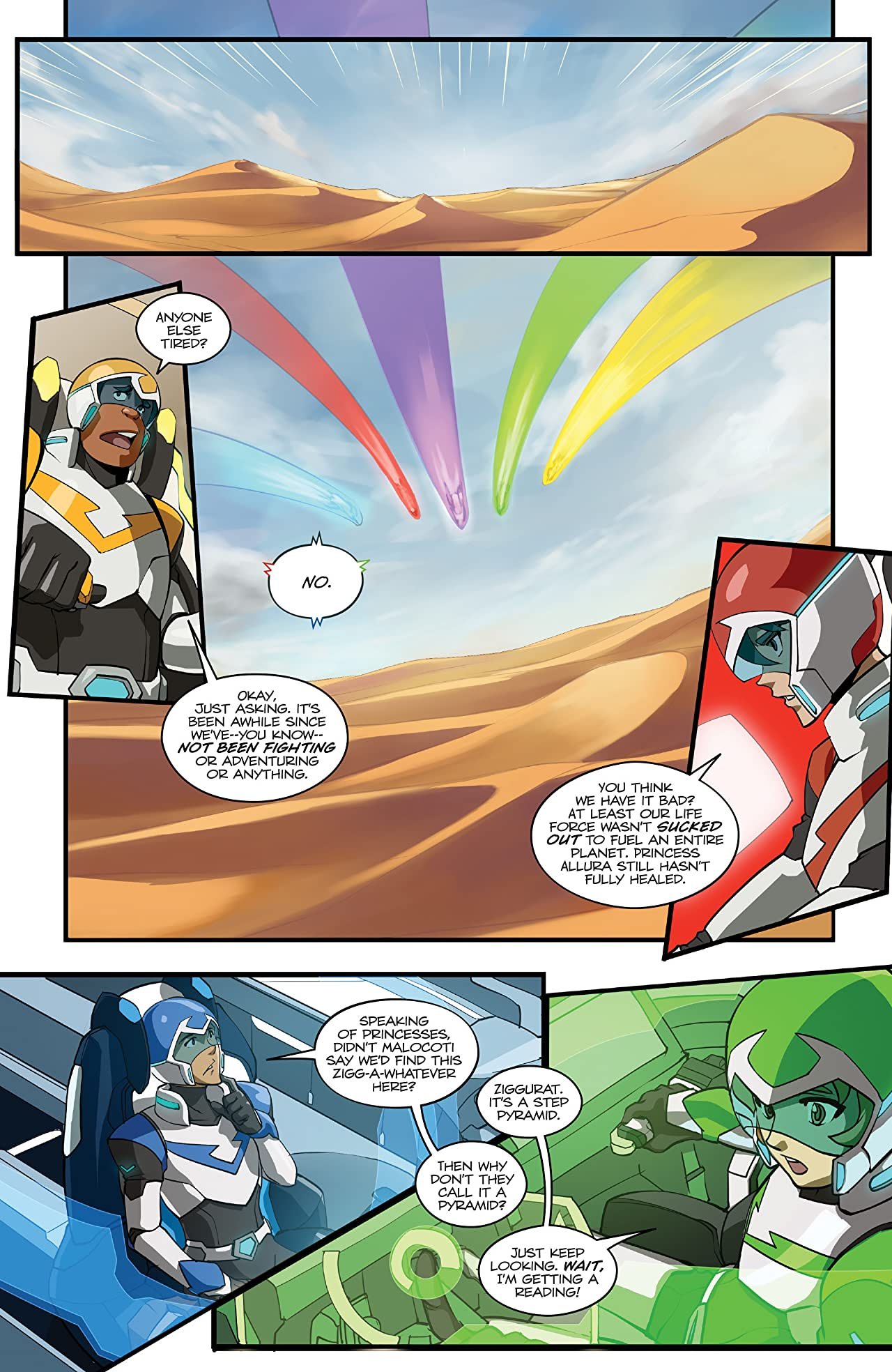 Voltron: Legendary Defender #4 (of 5)