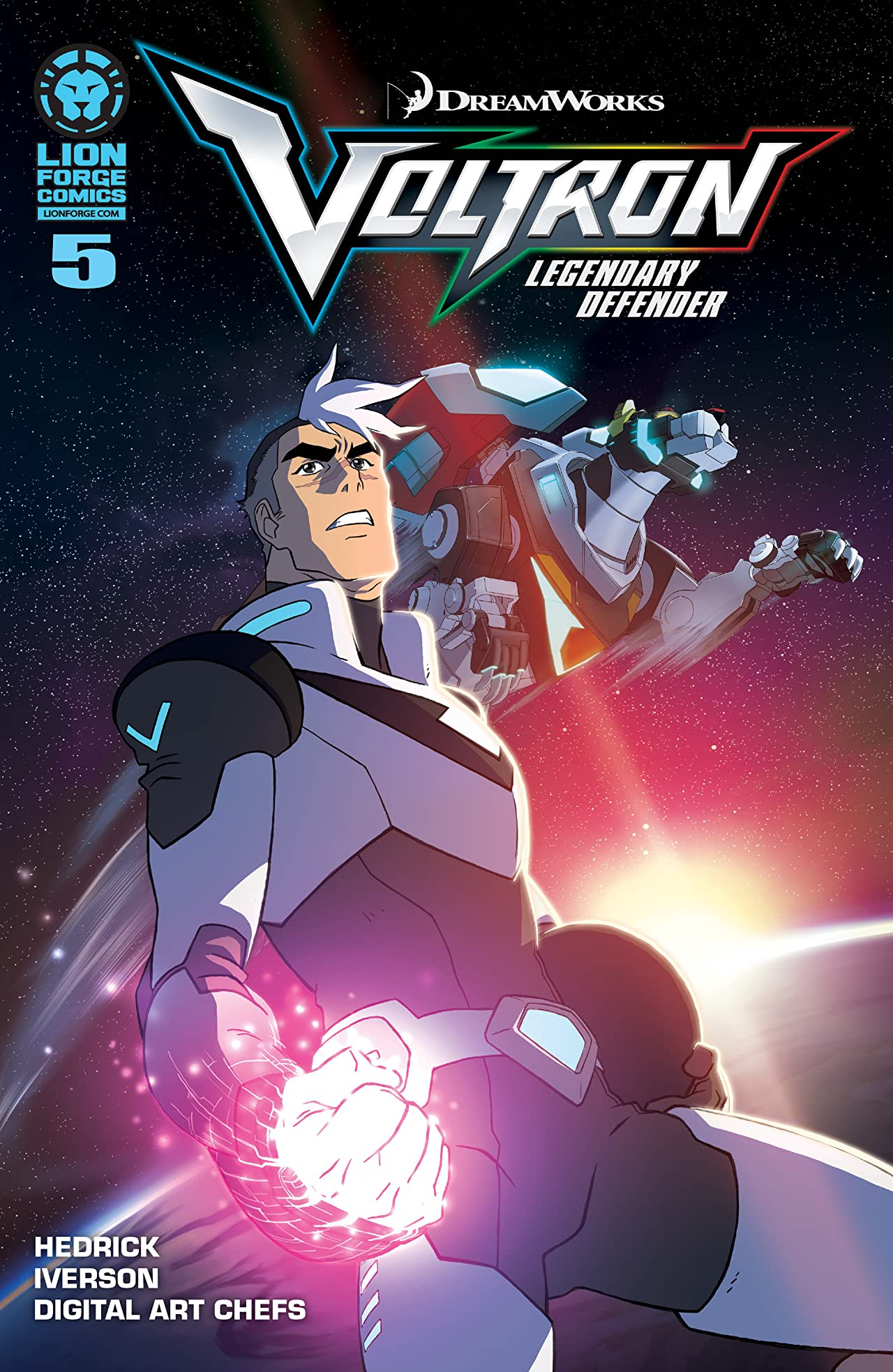 Voltron: Legendary Defender #5 (of 5)