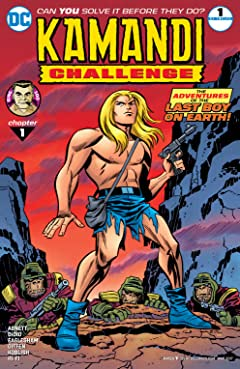 The Kamandi Challenge (2017) No.1