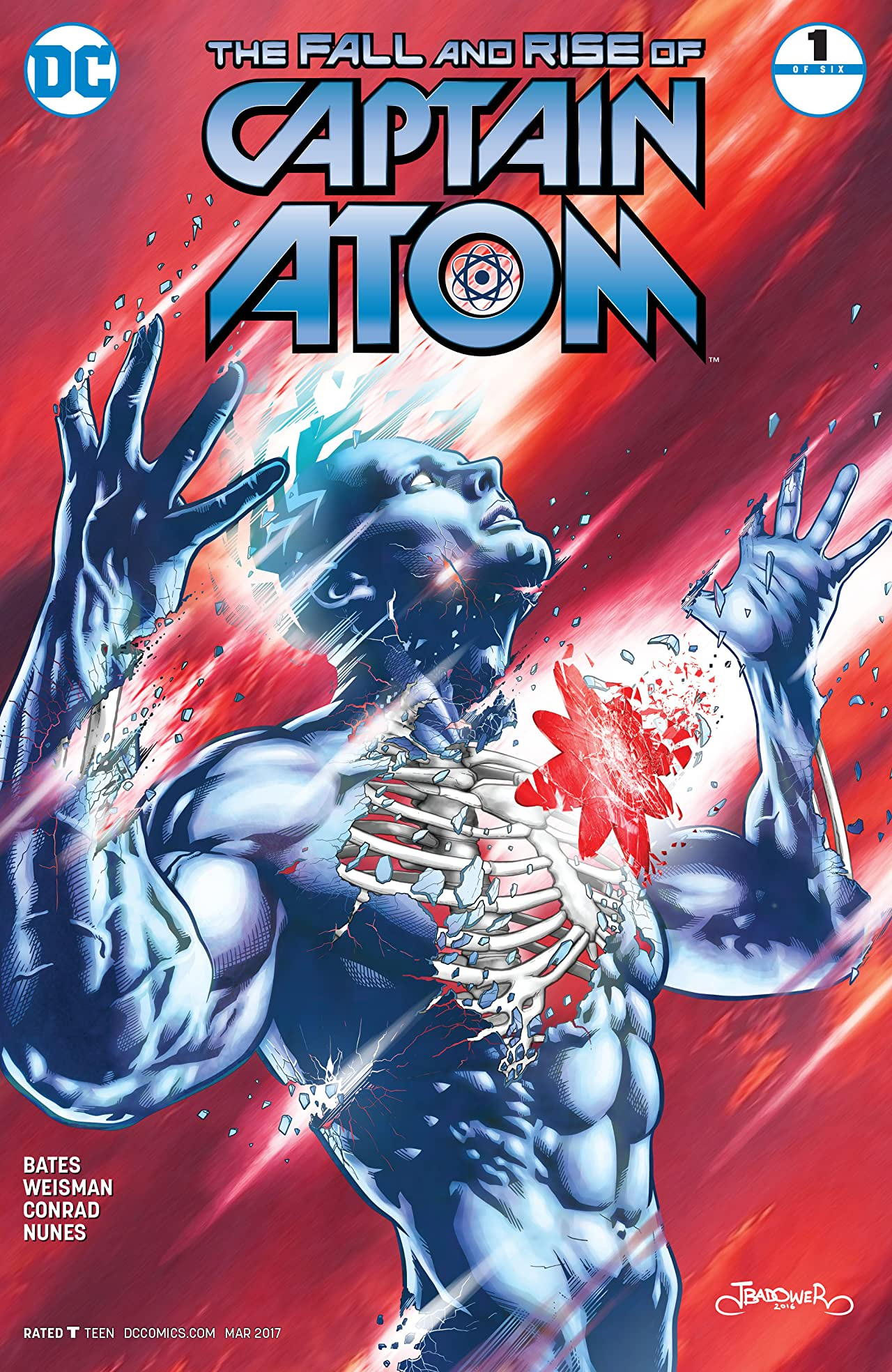 The Fall and Rise of Captain Atom (2017) #1