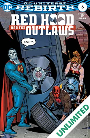 Red Hood and the Outlaws (2016-) #6