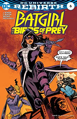 Batgirl and the Birds of Prey (2016-2018) No.6