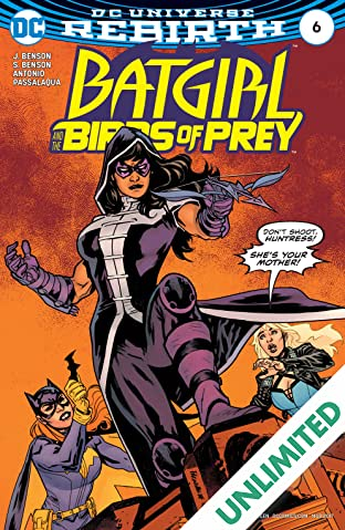 Batgirl and the Birds of Prey (2016-2018) #6