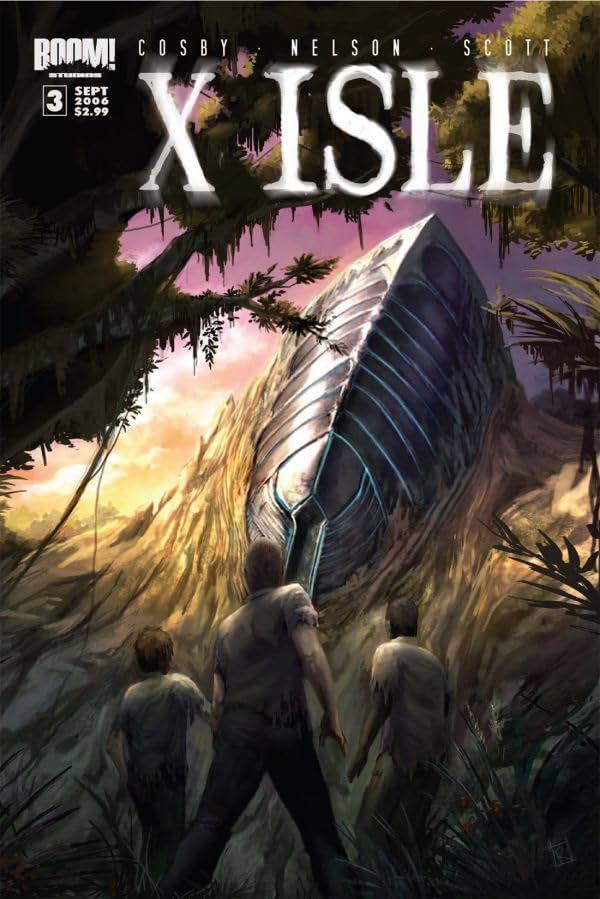 X Isle #3 (of 5)