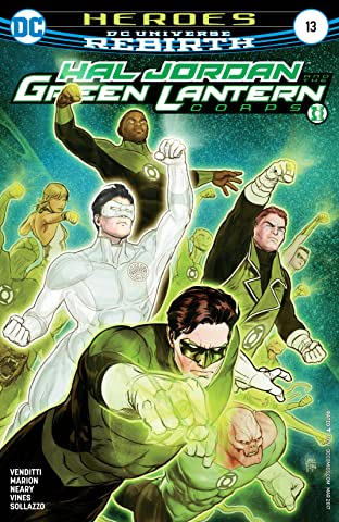 Hal Jordan and the Green Lantern Corps (2016-2018) #13