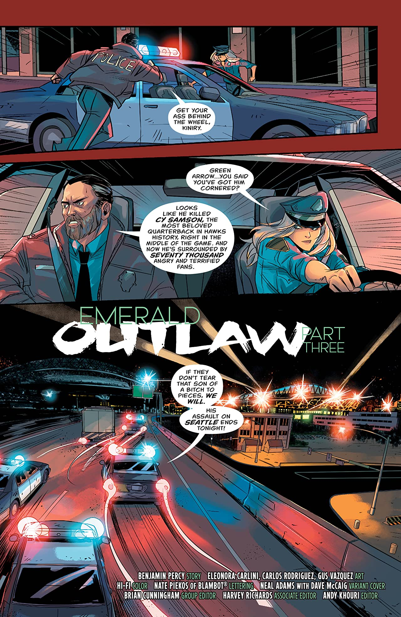Green Arrow (2016-2019) #14