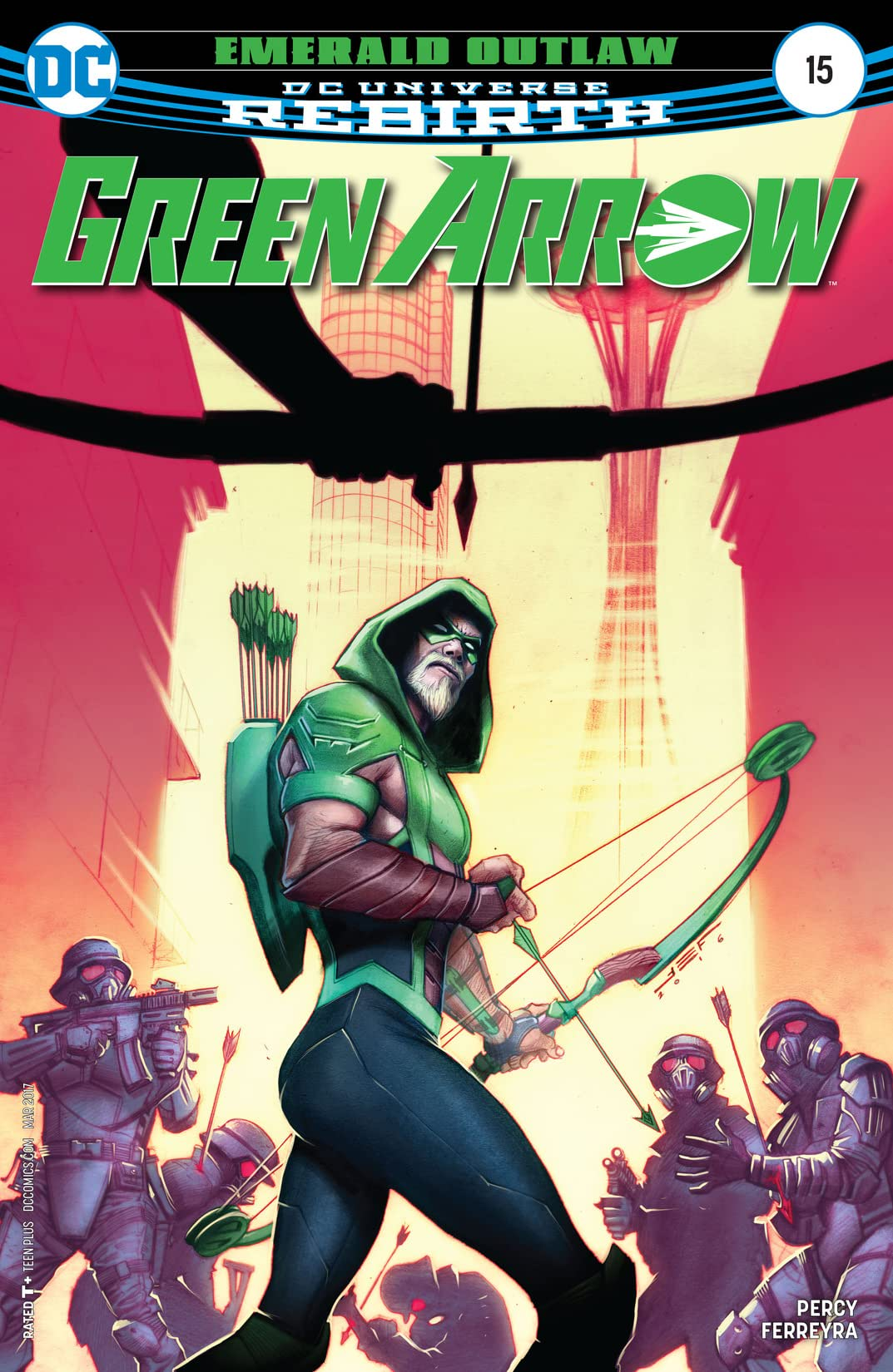 Green Arrow (2016-2019) #15
