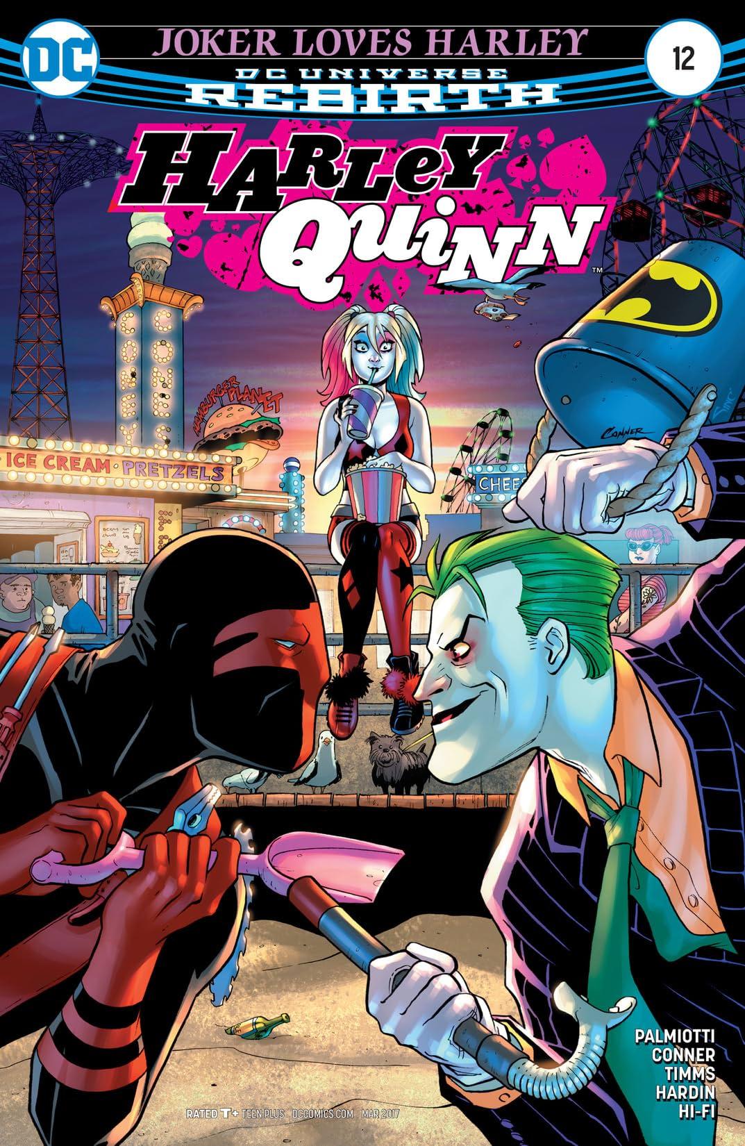 Harley Quinn (2016-) #12