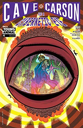 Cave Carson Has a Cybernetic Eye (2016-2017) #4