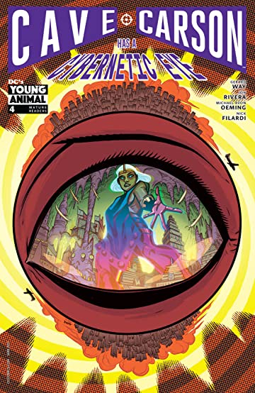 Cave Carson Has a Cybernetic Eye (2016-) #4