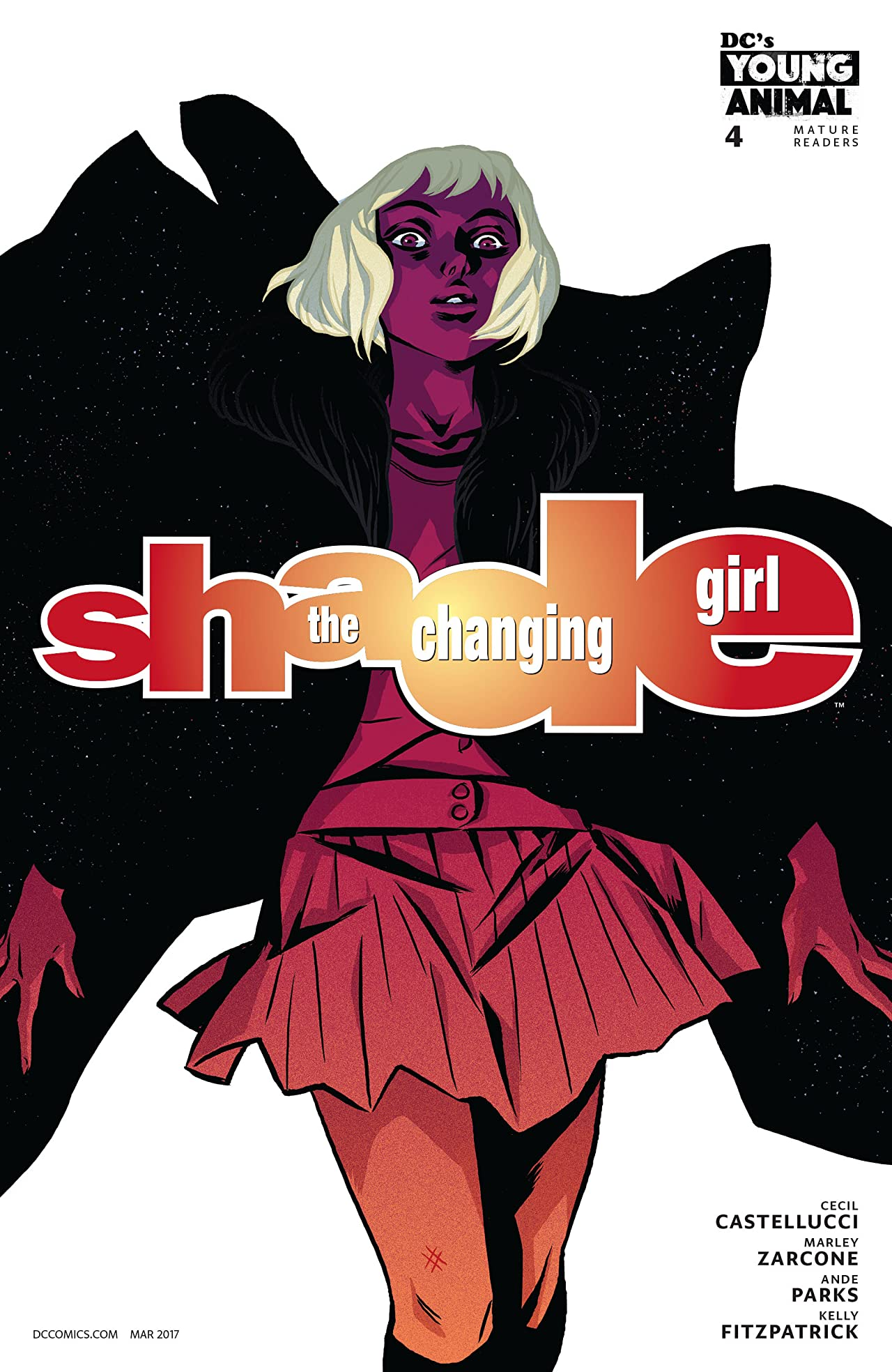 Shade, The Changing Girl (2016-) #4