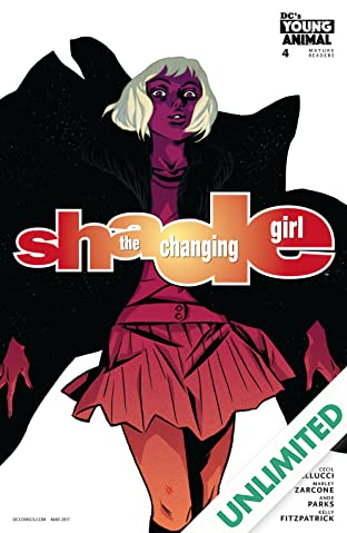 Shade, The Changing Girl (2016-2017) #4