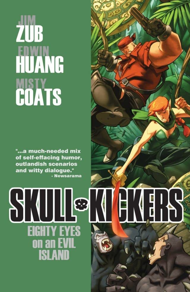 Skullkickers Vol. 4: Eighty Eyes On An Evil Island